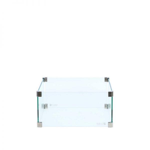 Glasset vierkant medium 45x45x20 cm