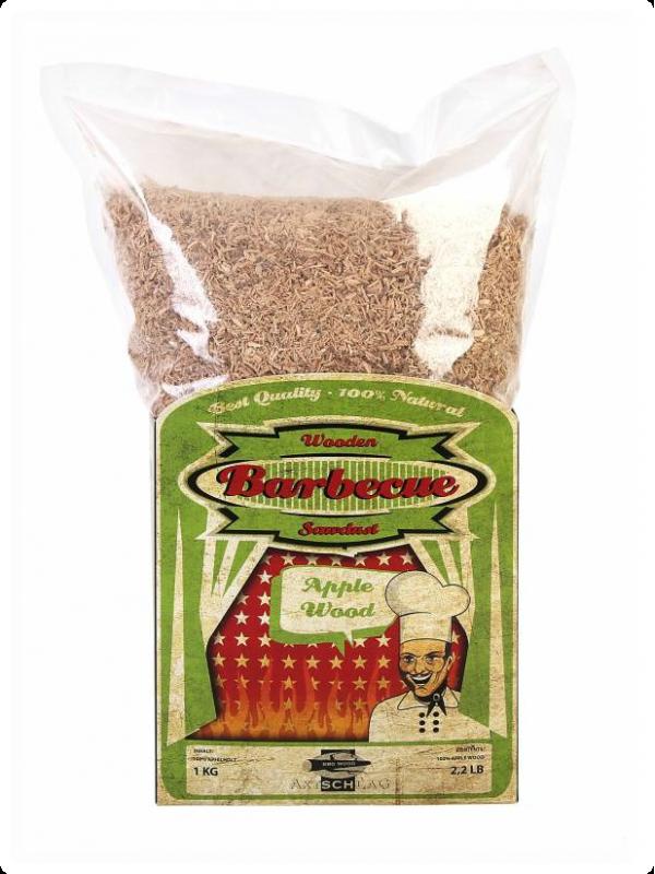 Sawdust apple - appel rookmot