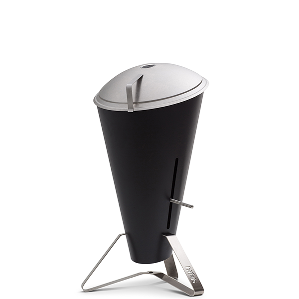 hoefats cone charcoal grill