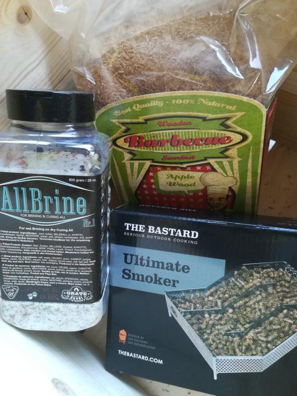 BBQ-box 'koud roken'