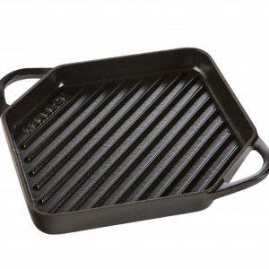 Ferleon grillplaat 25 cm zwart