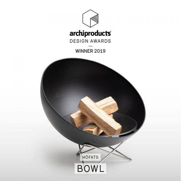 Bowl met lage draadvoet