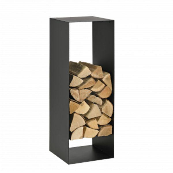 Houtrek houtblokken haard kachel